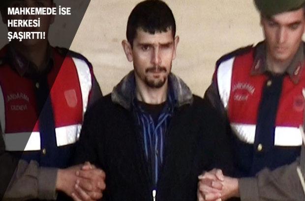 Sol gözündeki rahatsızlığın nedeni sorulunca vahşi cinayeti itiraf etti!