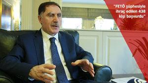 Şeref Malkoç: FETÖ şüphesiyle ihraç edilen 438 kişi başvuru yaptı
