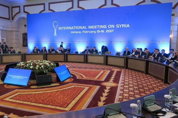 Suriye konulu toplantı Astana'da başladı