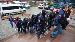 Bursa'daki terör operasyonunda 5 tutuklama