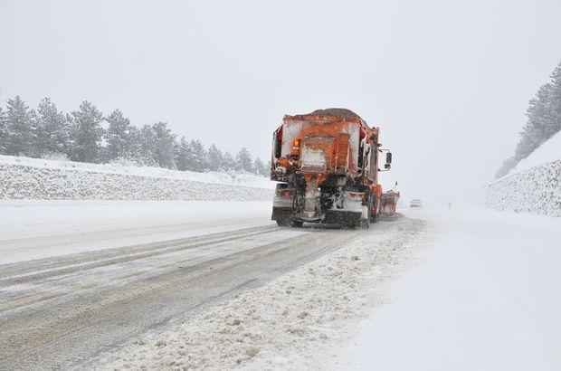 Kastamonu kar yağışı etkili oluyor