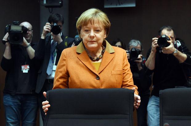 Angela Merkel ifade verdi
