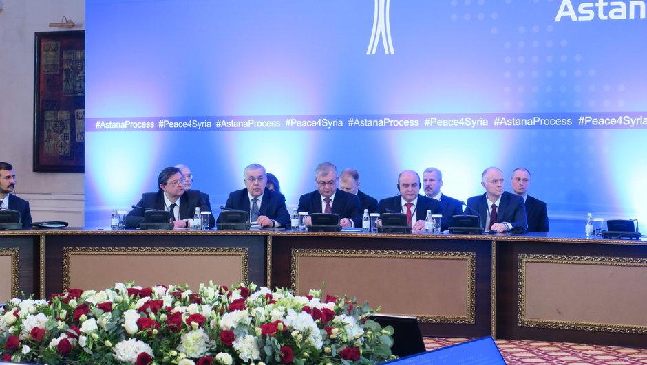 Rusya İran Suriye Astana