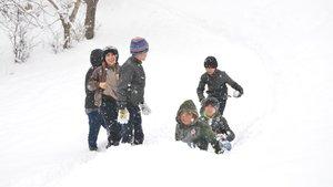 Beş ilde eğitime kar engeli