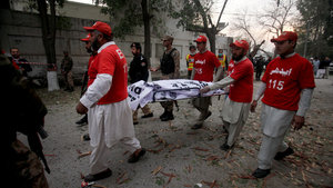 Pakistan'da türbeye bombalı saldırı