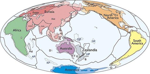 Dünyada artık sekizinci bir kıta var: Zelandiya