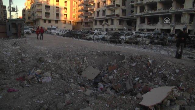 Viranşehir'de patlama! Olay yerinden ilk görüntüler