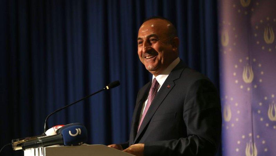 Dışişleri Bakanı Mevlüt Çavuşoğlu Almanya
