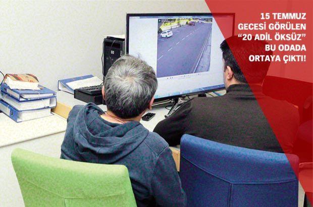 Habertürk, FETÖ soruşturmasının dijital hafızasının olduğu TRT'deki kozmik odaya girdi