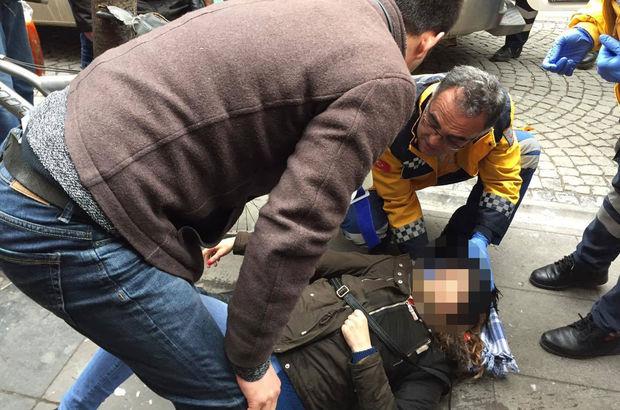 Eskişehir'de başına pencere düşen Gamze Kara ağır yaralandı