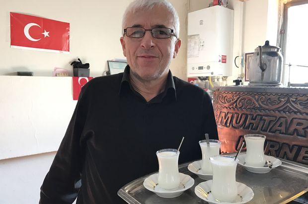Çay yerine süt