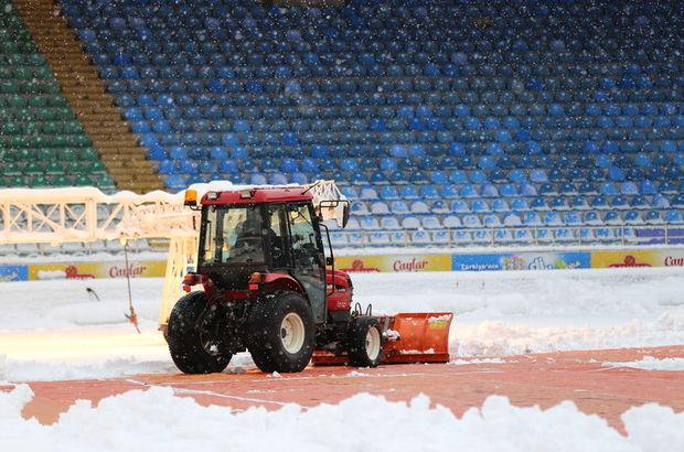 Rize'de kar alarmı