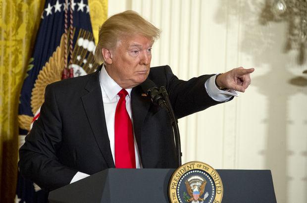 Trump'tan Beyaz Saray'da sürpriz basın toplantısı