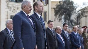 Başbakan Yıldırım Malta'da konuştu