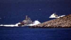 Yunan botu Türk karasularını ihlal etti, gerginlik yaşandı