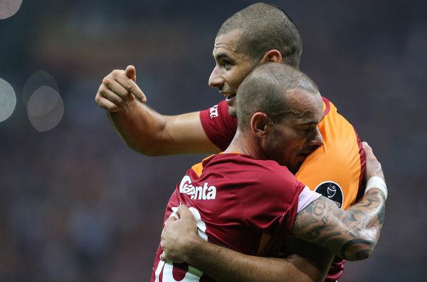 Wesley Sneijder ile Eren Derdiyok Rize'de yok! Bruma neden yok?