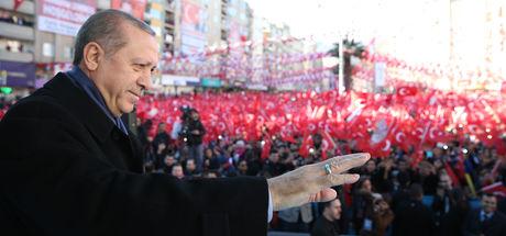 Erdoğan: 14 yıl boyunca Türkiye'yi alacakaranlık kuşağından uzak tutmak için mücadele ettik
