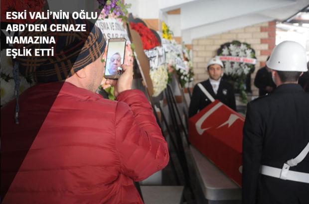 Babasının cenazesine görüntülü aramayla katıldı