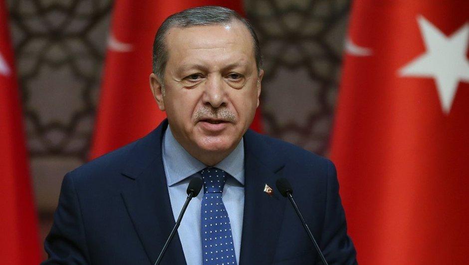 Gaziantepspor Cumhurbaşkanı Recep Tayyip Erdoğan
