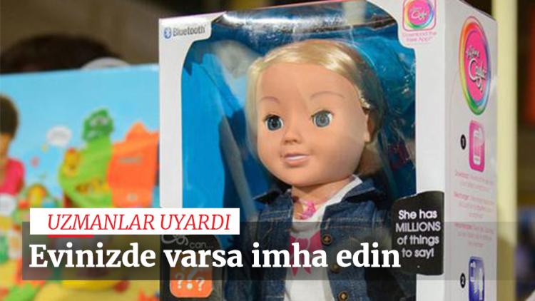 Alman yetkililer, hacker'ların bluetooth'u olan oyuncak bebeklere sızarak çocukların konuşmalarını dinleyebileceği uyarısında bulundu.