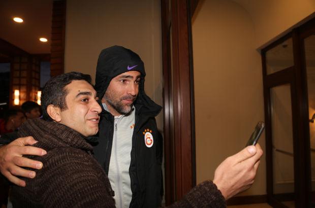 Galatasaray Rize'ye ulaştı