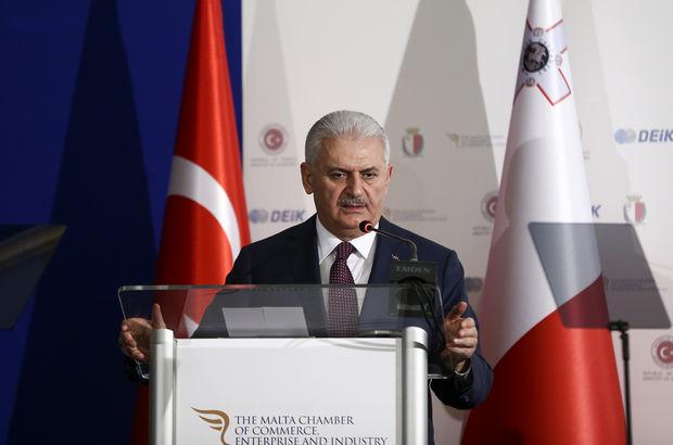 Başbakan Yıldırım'dan AB'ye mesaj