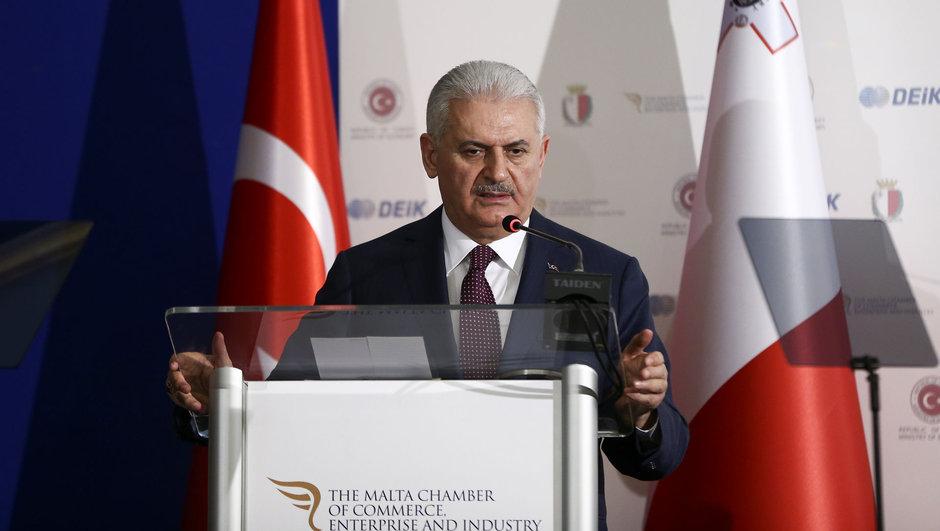 Başbakan Binali Yıldırım, Türkiye-Malta İş Forumu'nda konuşuyor...