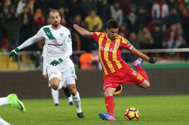 Kayserispor: 2 - Bursaspor: 0 | MAÇ SONUCU