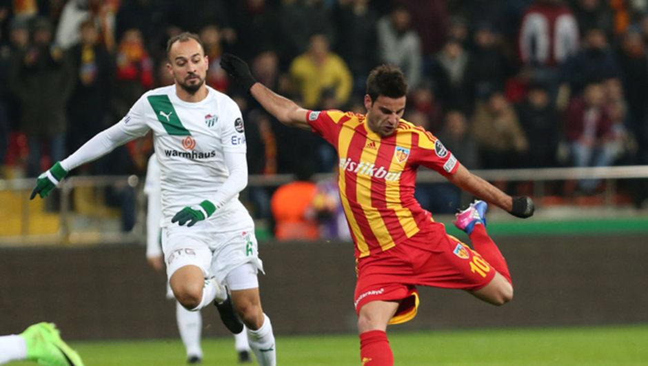 Kayserispor: 2 - Bursaspor: 0