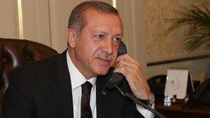 Cumhurbaşkanı Erdoğan'dan Türkmenistan'a tebrik telefonu