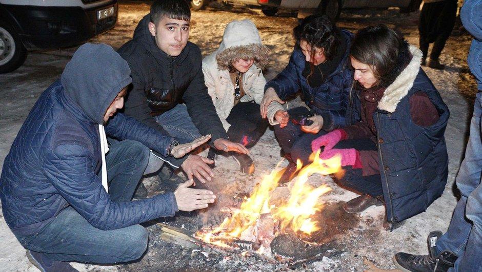 Şanlıurfa'da çoğu çocuk 200 kişi mahsur kaldı