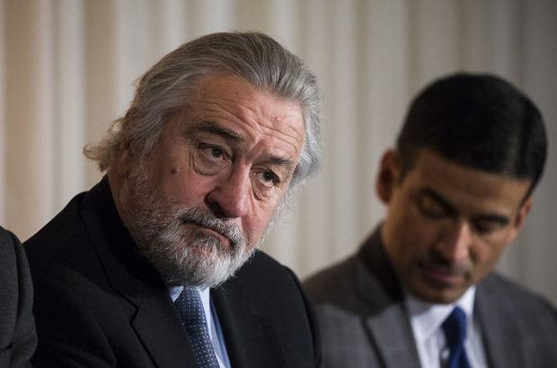 Robert de Niro'dan gazetecilere 100 bin dolarlık teklif