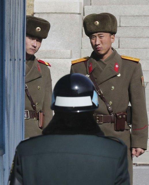 Kuzey Kore ve ABD askerleri karşı karşıya!