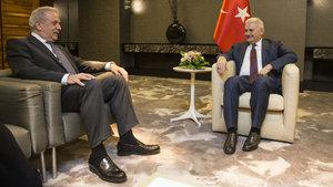 Başbakan Binali Yıldırım, Avramopulos'u kabul etti