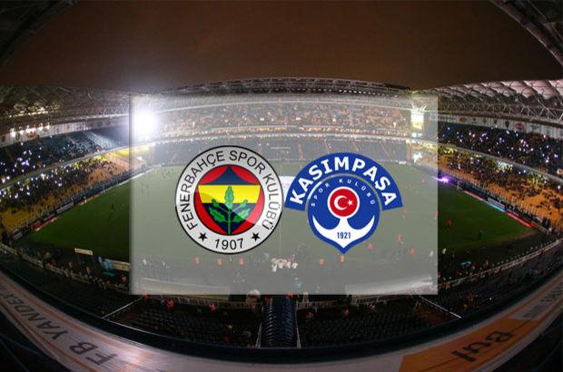 Fenerbahçe - Kasımpaşa maçı hangi kanalda, saat kaçta, ne zaman?