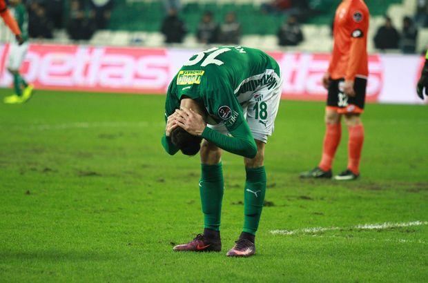 Bursaspor'da hayal kırıklığı yaşanıyor