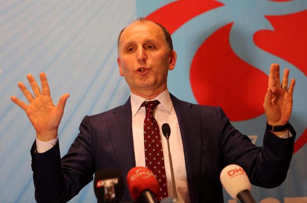 Muharrem Usta'dan Trabzonspor taraftarına çağrı!