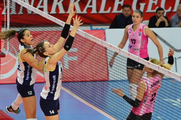 Çanakkale Belediyespor: 2 - Fenerbahçe: 3