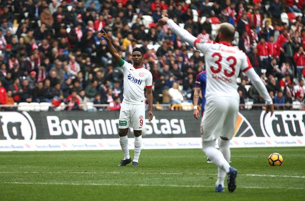 Antalyaspor: 1 - Kardemir Karabükspor: 0 | MAÇ SONUCU