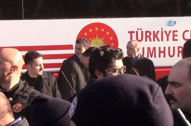 Erdoğan'ın konvoyunda üzücü kaza Cumhurbaşkanı yaralanan korumasının başından uzun süre ayrılmadı