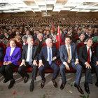 MHP'li muhalifler 'Hayır' için toplandı