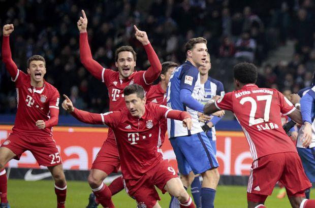 Hertha Berlin: 1 - Bayern Münih: 1