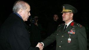 Cumhurbaşkanı Erdoğan'dan 2. Ordu'ya ziyaret