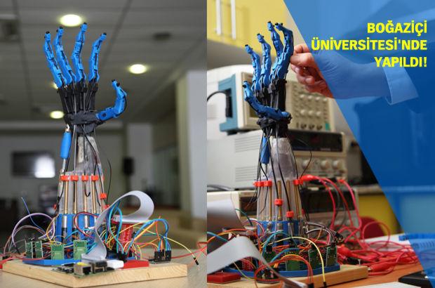 robot el Boğaziçi Üniversitesi