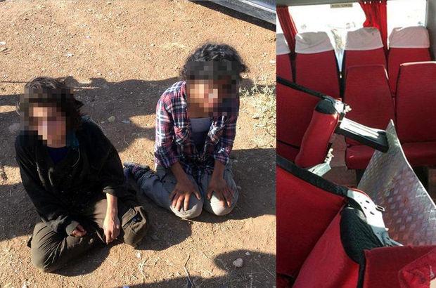 Minibüsün gizli bölmesinde yakalanan teröristin pişmanlığı iddianamede yer aldı