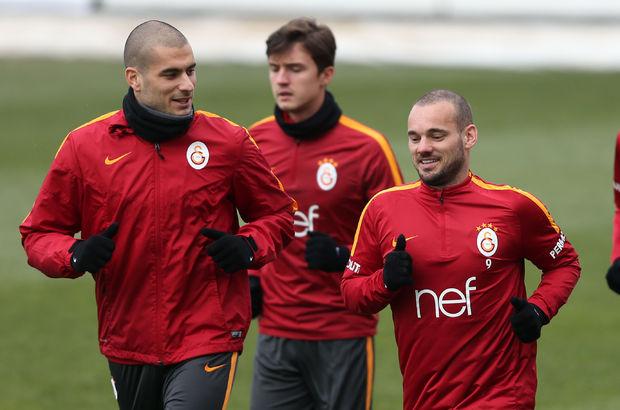 Eren Derdiyok ve Wesley Sneijder Beşiktaş'a hazır