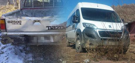 Lice'de bombalı saldırılarda kullanılacak 2 araç ele geçirildi