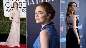 Ödül avcısı Emma Stone'un zarafet sırları