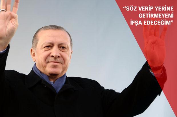 Erdoğan: Şoke olacaklar şoke