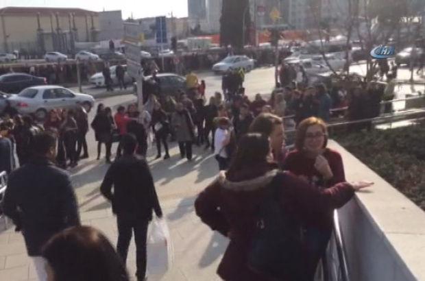 İstanbul'da bir AVM'de panik yaratan kavga